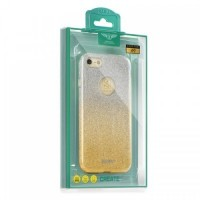 Калъф KAKU OMBRE - Huawei P10 Lite златен