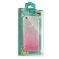 Калъф KAKU OMBRE - Huawei P10 Lite розов
