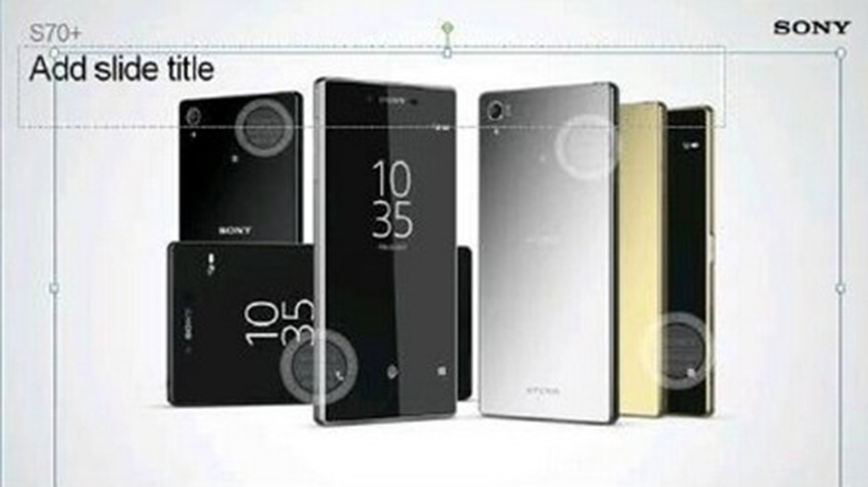 sony xperia z5 plus leaked images